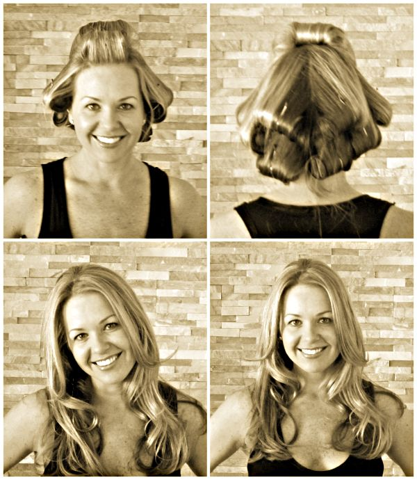 Beachy Waves Hot Rollers Long Hair Styles Hair Beauty Hair Styles