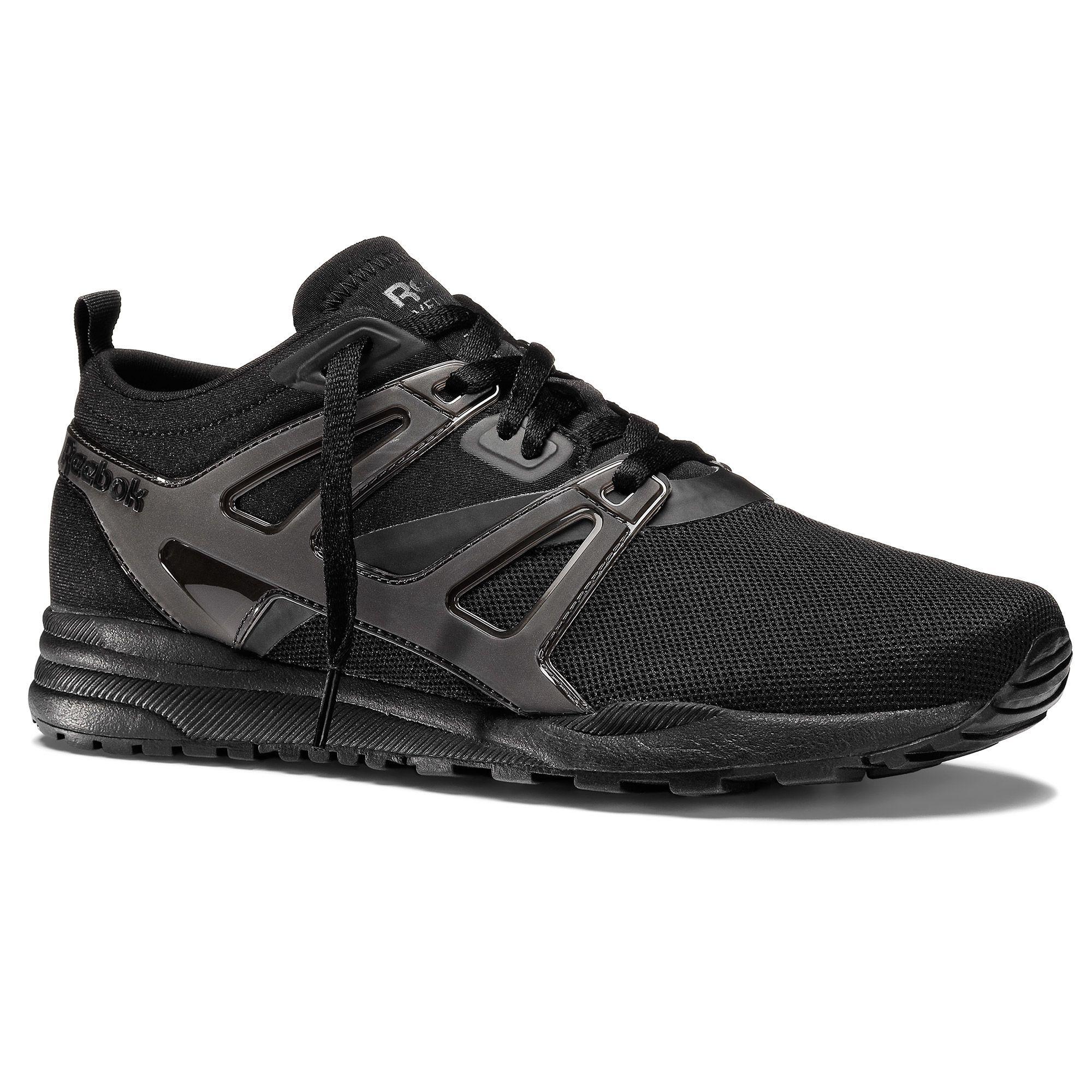 Zapatos negros Reebok para hombre CFizHQLPU7