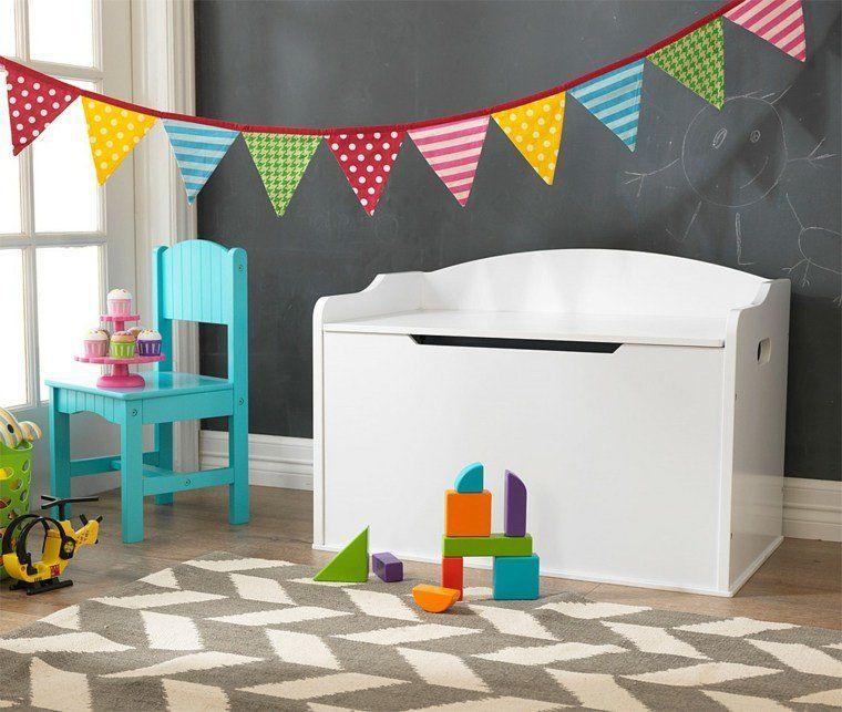 Extrêmement Rangement salle de jeux enfant : 50 idées astucieuses | Salle de  MT31