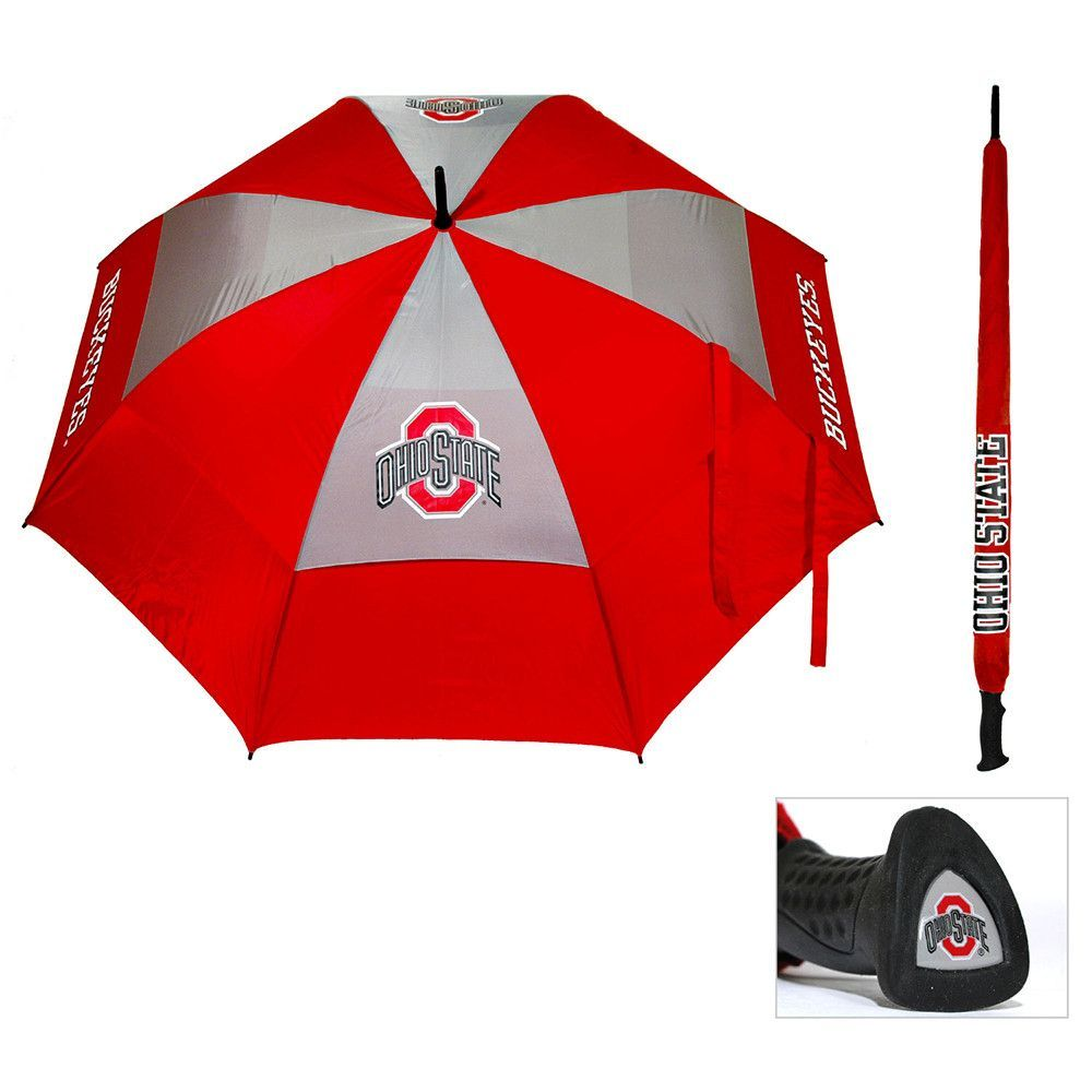 Ohio State Buckeyes NCAA 62 inch Double Canopy Umbrella