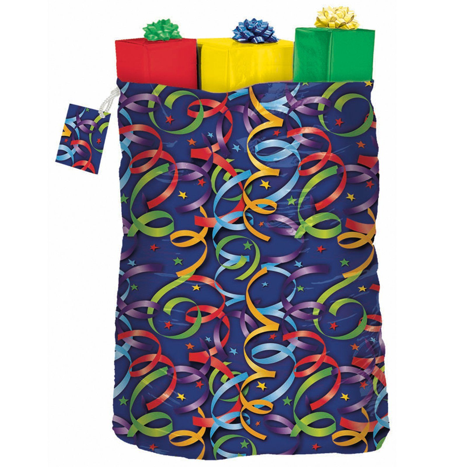 Celebration Streamers Giant Gift Sack, 82378