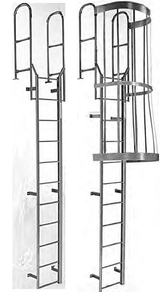Our Roof Ladders are ideal for any vertical access solution