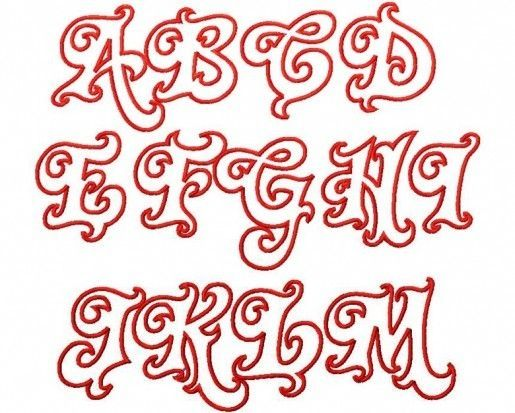 cool alphabet letter designs