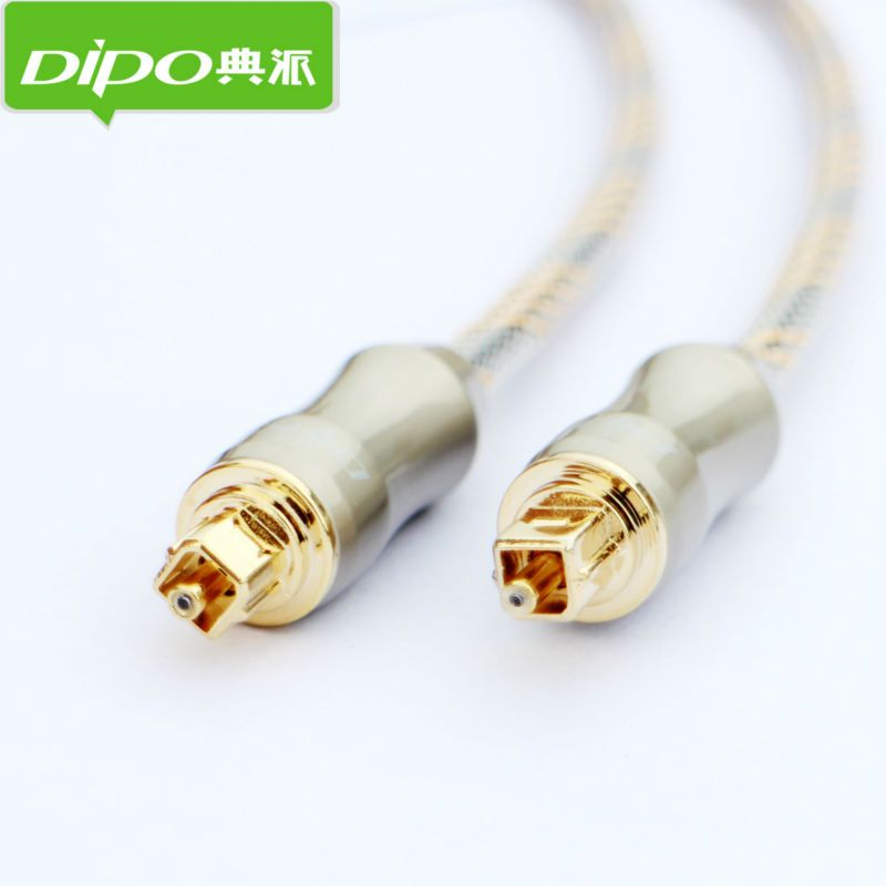DIPO Digital Toslink Optical Audio Cable TV SPDIF output to ...