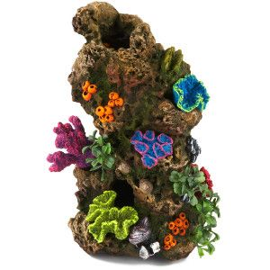 Top fin coral plant rocky aquarium ornament ornaments for Aquarium coral decoration