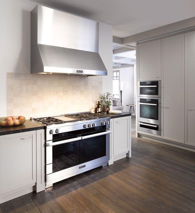 Miele - Ranges | Miele kitchen, Modern kitchen, Kitchen