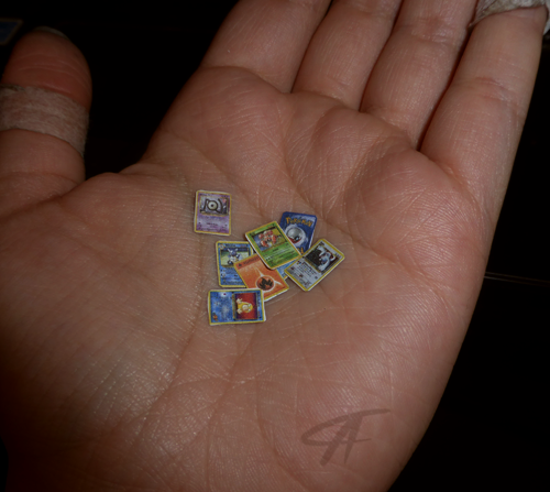 Mini Pokemon Cards By Griffsnuff On DeviantArt