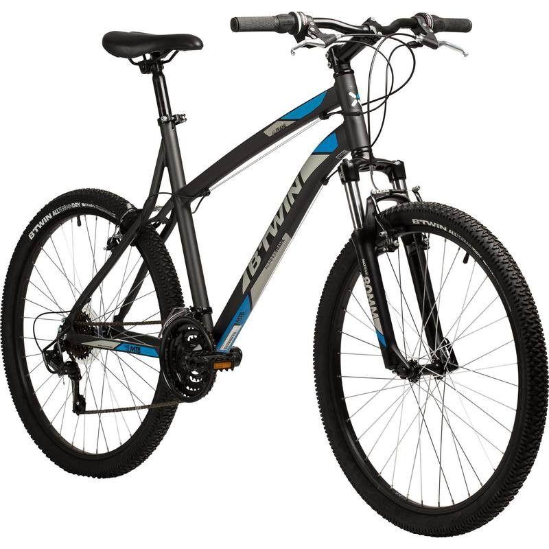 Vtt 340 Gris 26 Rockrider Rockrider Nice Bikes Mountain Bicycle