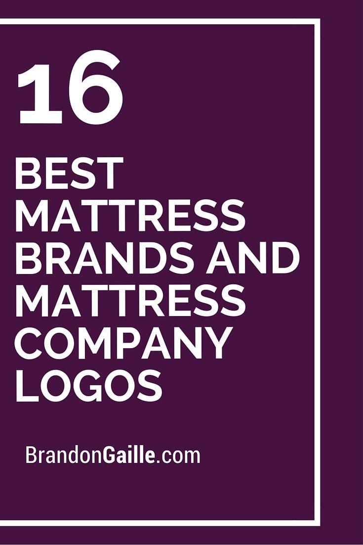 16 Best Mattress Brands And Mattress Company Logos Logos And Names
