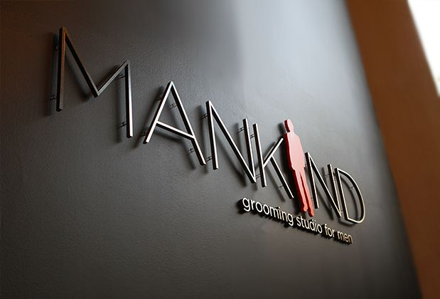 3d sign office corporate logo sign & design, Wall mirror , design ...