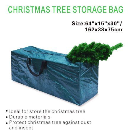Christmas Review Heavy Duty Large Christmas Tree Storage Bag For