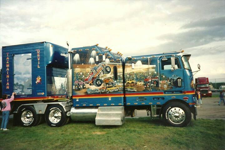 A Cabover Custom Design Very Very Intricate And