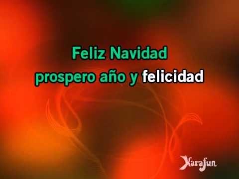 Karaoke Feliz Navidad - José Feliciano * | Karaoke, José feliciano, Christmas concert ideas