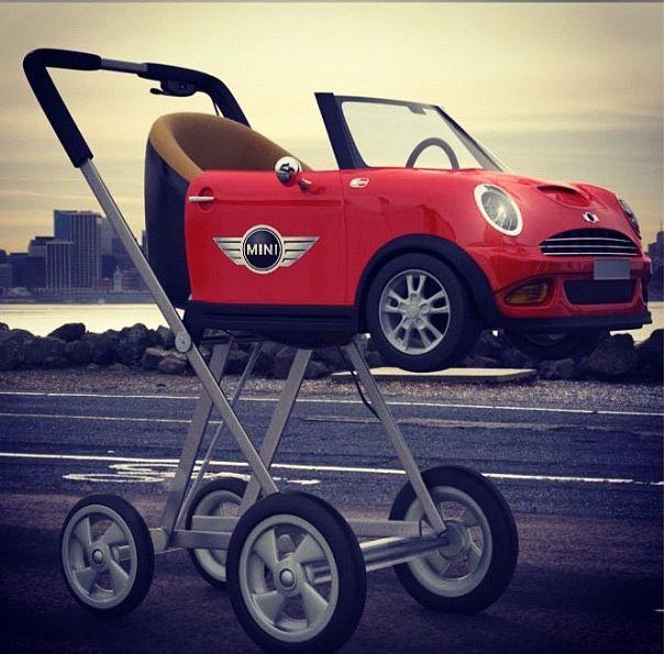 Mini Cooper Baby Pram Mini Fun Baby Strollers Mini Lifestyle