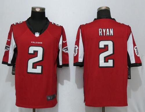 22 Atlanta Falcons 2 Matt Ryan Red Team Color Men S Nfl Limited Nike Stitched Jersey Atlanta Falcons Jersey Nfl Jerseys Atlanta Falcons