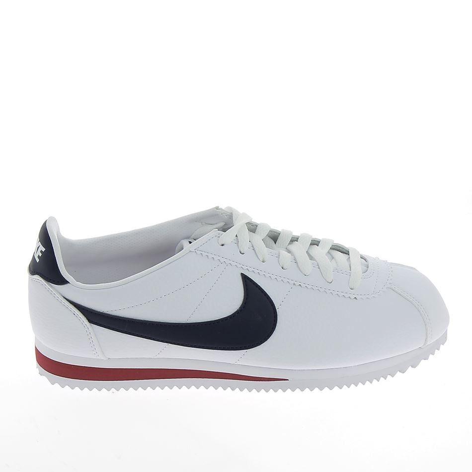 sports shoes 9f908 b999c nike cortez homme bleu blanc rouge