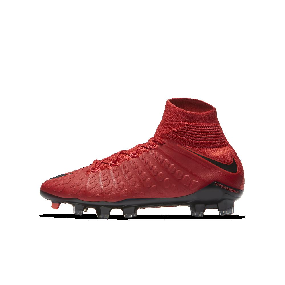 best website d8a5f 3a07e Nike Hypervenom Phantom 3 DF FG Big Kids' Firm-Ground Soccer ...