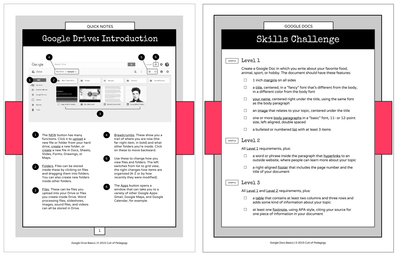 16 Ideas For Student Projects Using Docs Slides