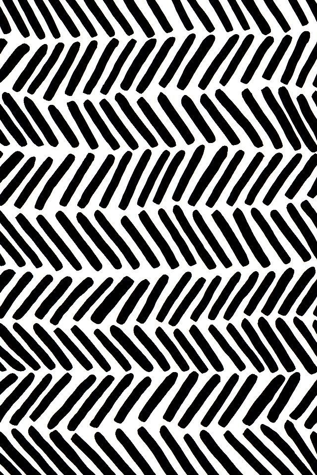 Black White Pattern Wallpaper Chevron Wallpaper Iphone Wallpaper