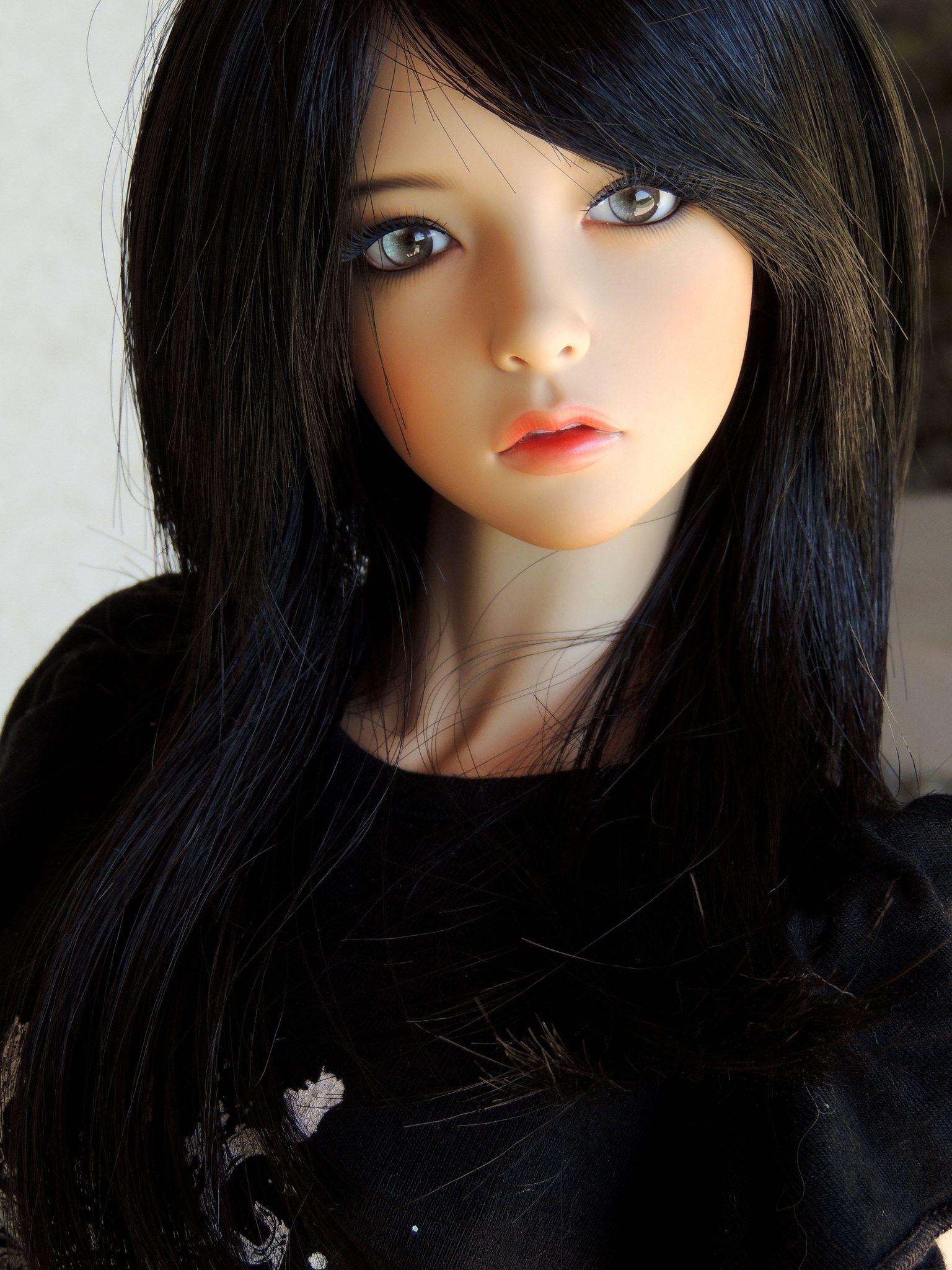 Креативное фото живая кукла