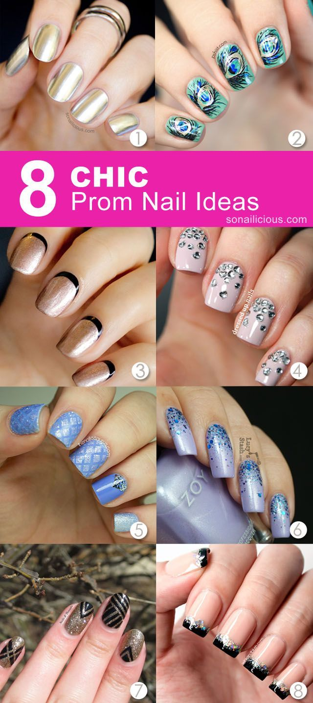 prom nails: 8 great nail art ideas. #prom #nails | ❤ nail art