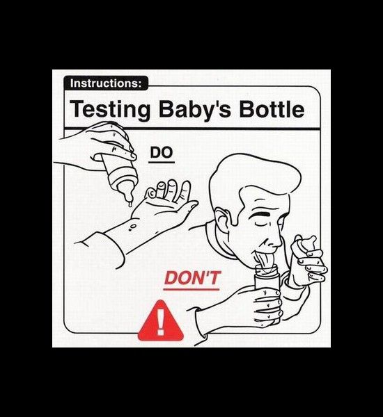 Baby Dos And Donts Testing Babys Bottle Baby Dos And Donts