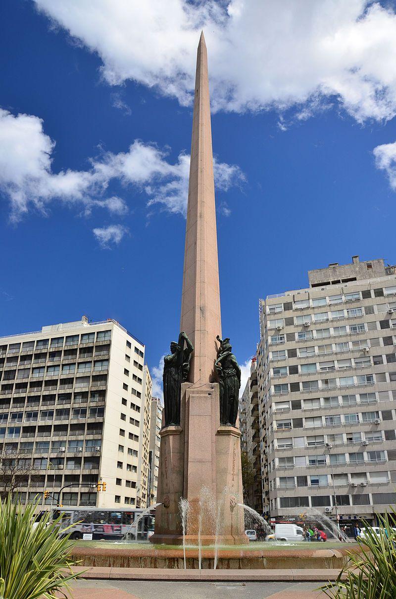 Obelisco a los Constituyentes, Montevideo, Uruguay   Uruguay ...