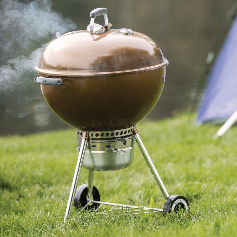 Original Kettle Premium 22 in. Charcoal Grill - 14401001 ...