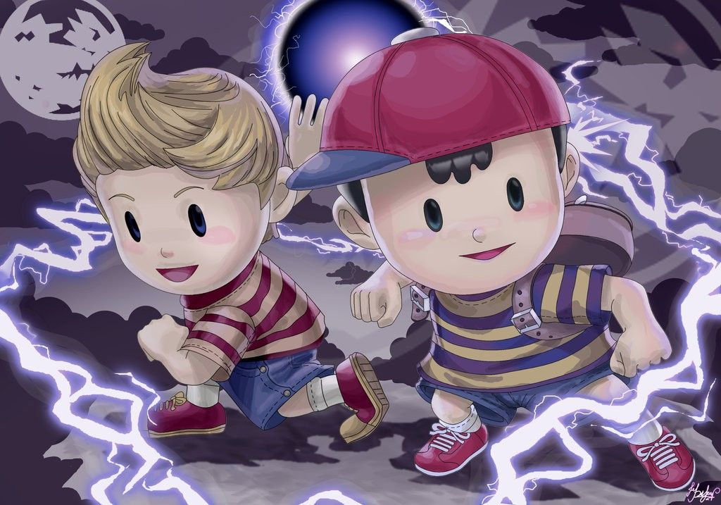 Ness & Lucas, Earthbound | Earthbound/Mother Characters
