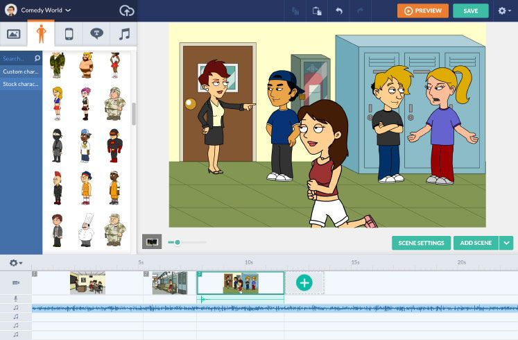 GoAnimate for Schools - Create animated videos  Students can
