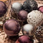 Weihnachtsfarben 2019 - Trends für Weihnachtsdeko, Weihnachtskugeln #weihnachtsdeko2019trend