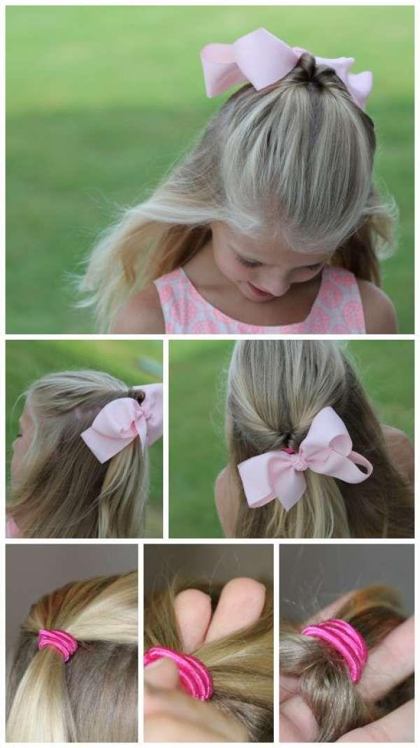 13 Tutos De Coiffures Faciles Pour Petites Filles Coupe