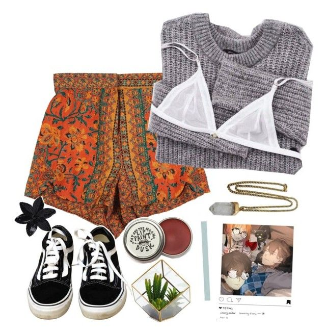 """// hifumi //"" by spriingy ❤ liked on Polyvore featuring StyleNanda, Vans, Lacey Ryan and ASOS"
