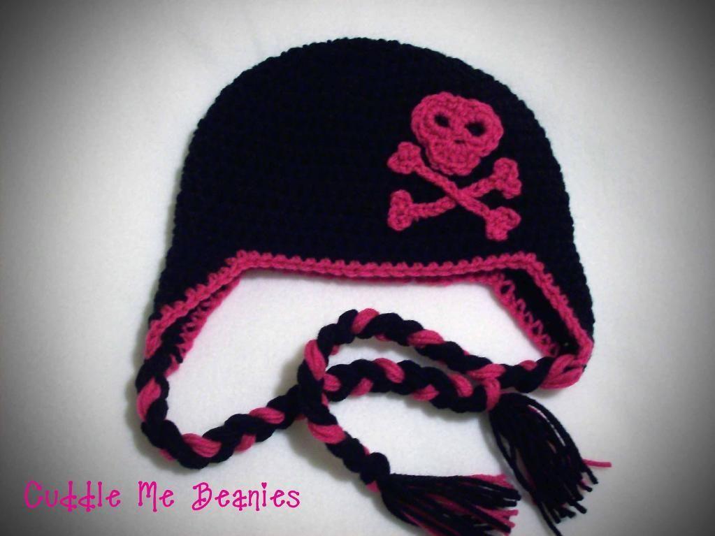 Skull Crossbones Beanie Pattern Beanie Pattern Crochet And