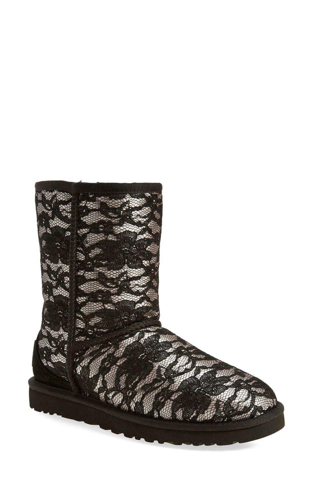ugg classic short antoinette boot