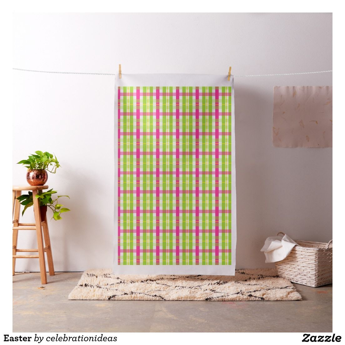 Sold. #plaid #gingham #pattern  #Fabric available in different products. Check more at www.zazzle.com/celebrationideas