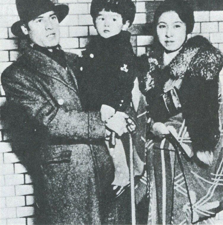 昭和9年 声楽家 藤原義江と妻子 | 戦前生活・風俗・文化 | 戦前, 戦後, 文化