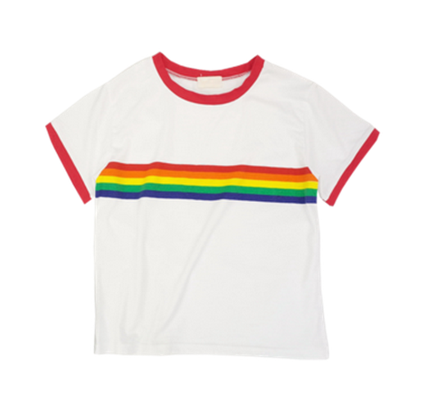 e70efbb217 Retro Rainbow Tee sold by moozoo. Shop more products from moozoo on Storenvy