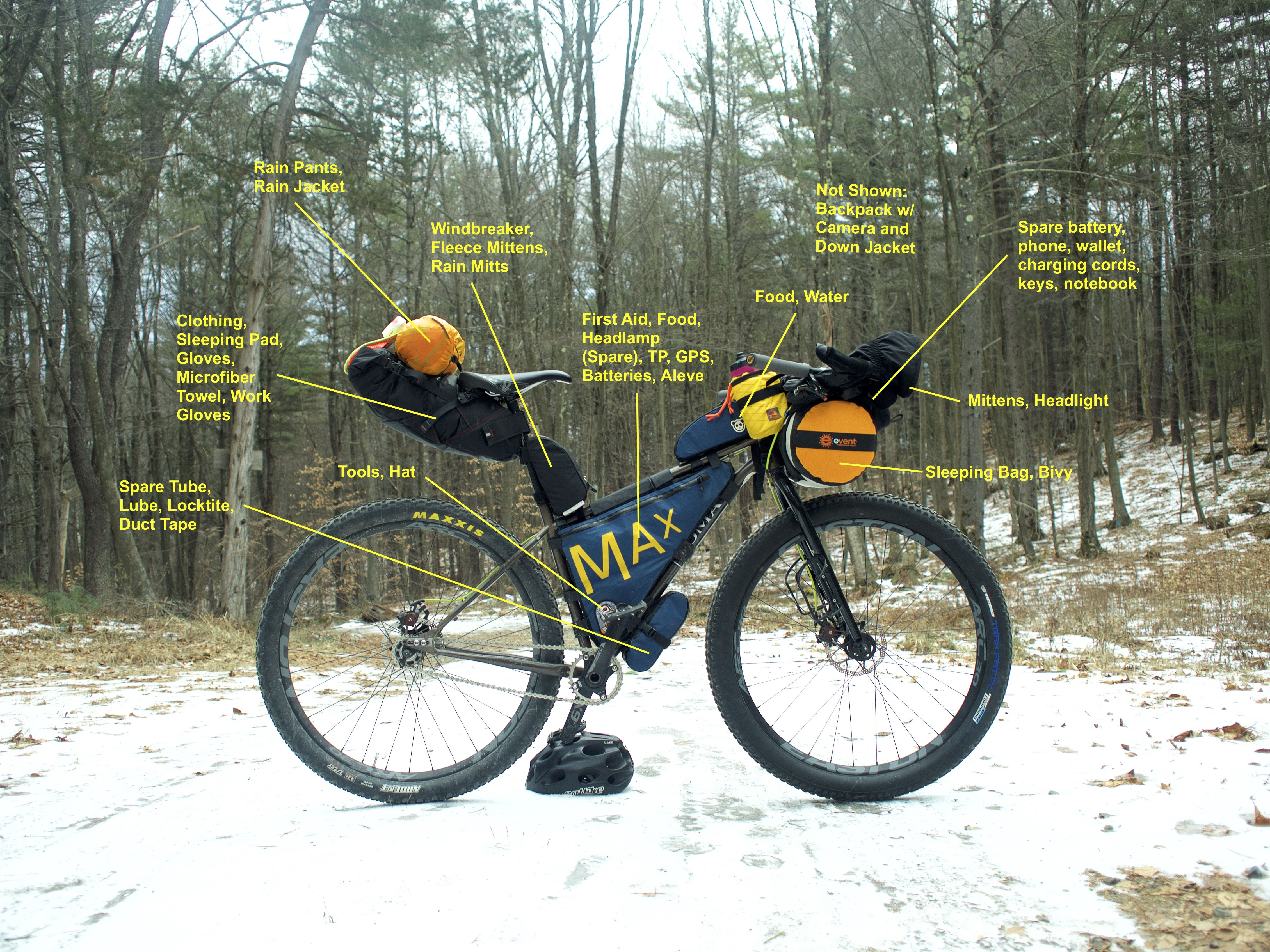 Bike packing bag experiences wanted | Bicy | Pinterest