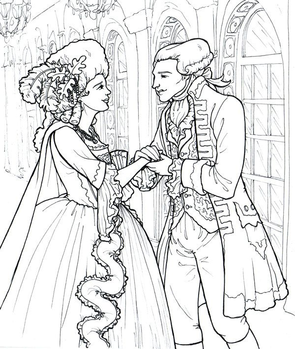 The Marquise and Marquis de Lafayette by *jamberry-song on ...