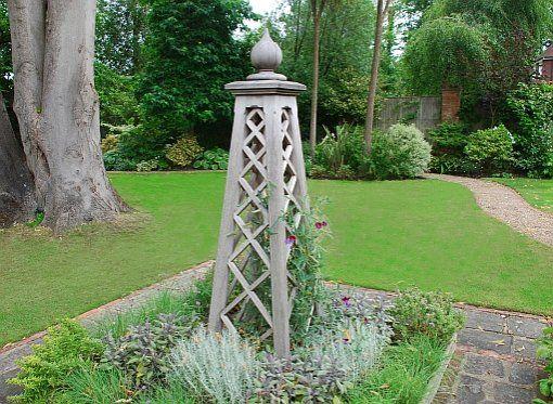 17 bsta bilder om Garden Obelisk p Pinterest Trdgrdar