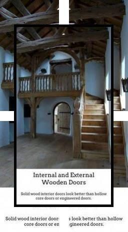 Photo of Internal Wooden Doors | Oak Interior Doors With Glass | Cheap Oak Doors