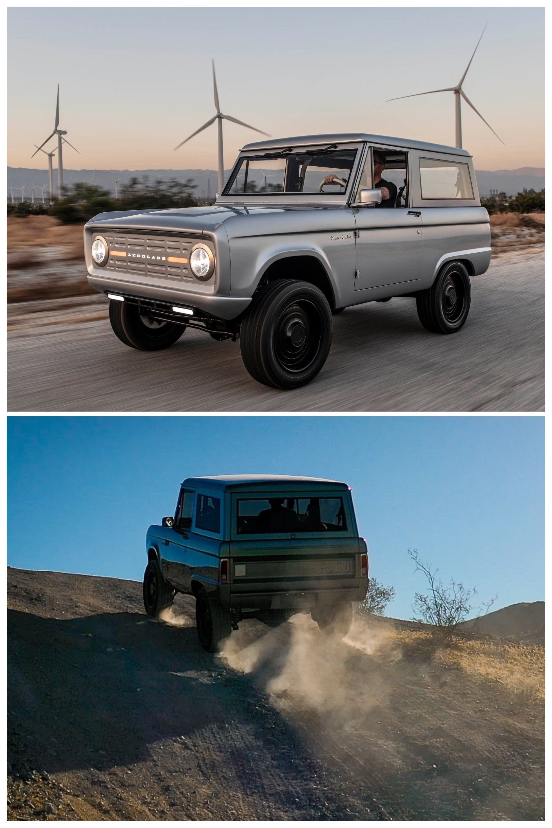 Ford Bronco Ev Restomod Starting At 185 000 With Up To 600 Hp In