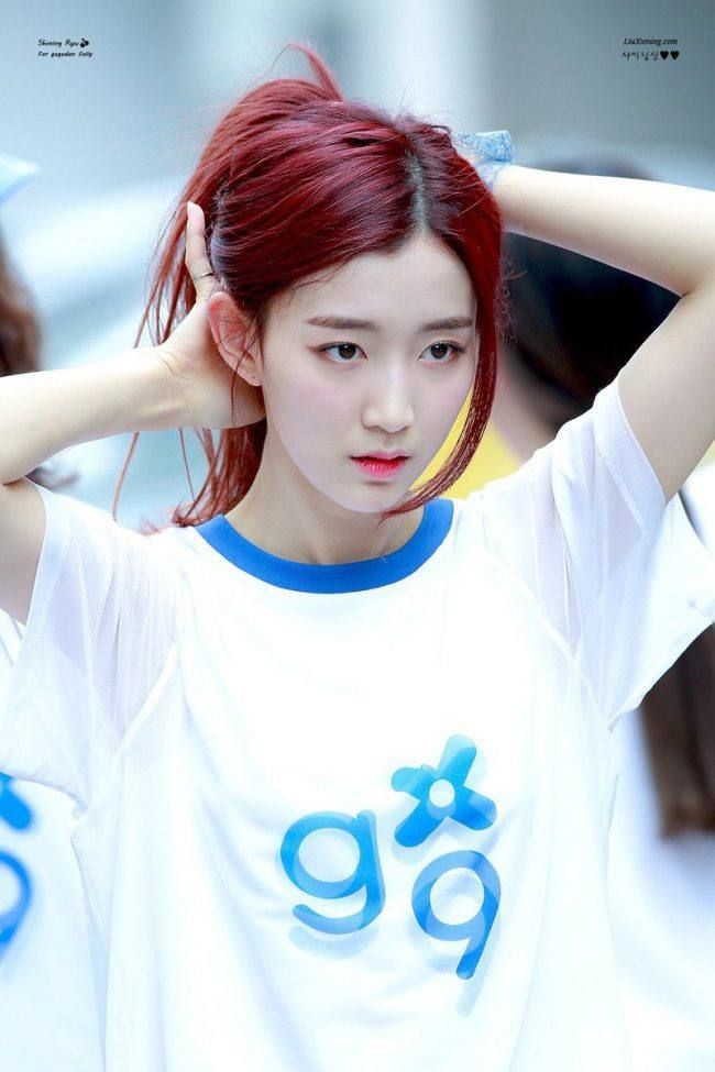 This Gugudan Member Joins The Ranks Of Cold Beauties Koreaboo Pristin Kpop Entertainment