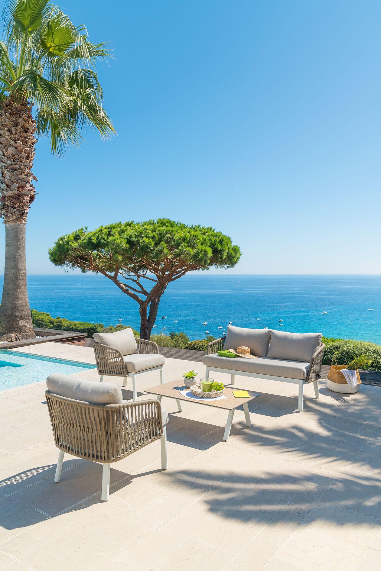 Préparez l\'été avec le salon de jardin Barcelone d\'Hespéride ! Ce ...