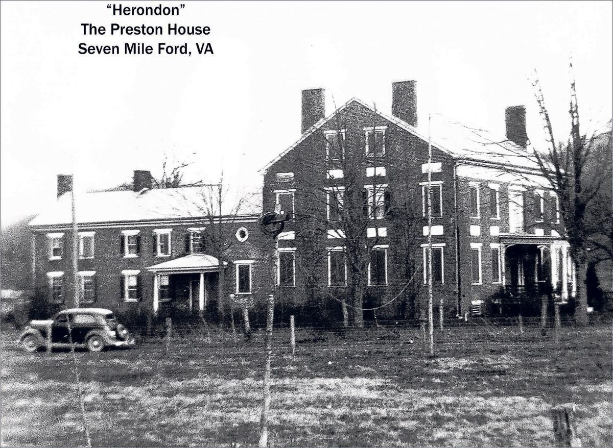 Herondon House The Preston House The Lucy Crockett House