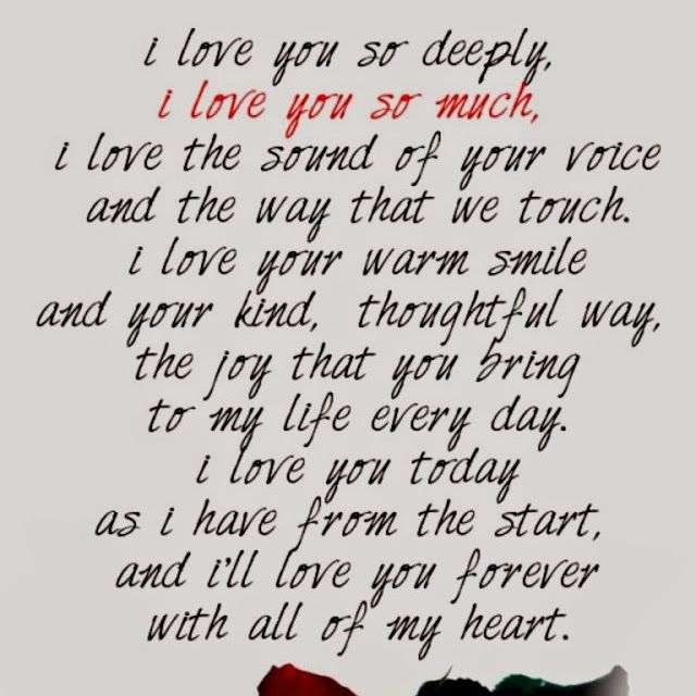 i love you so much quotes love you poems i love you deeply