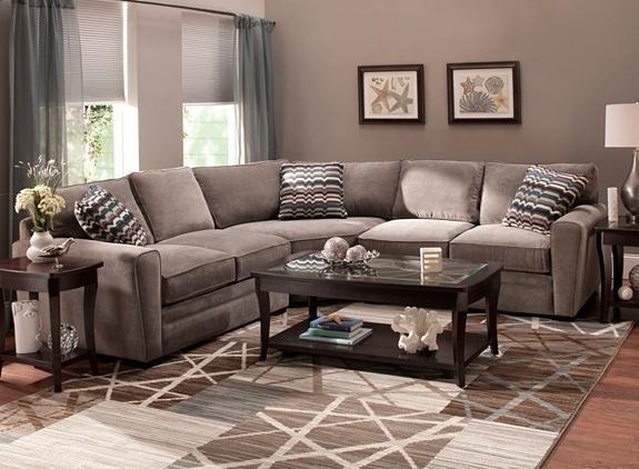 Artemis Ii 3 Pc Microfiber Sectional Sofa Microfiber Couch