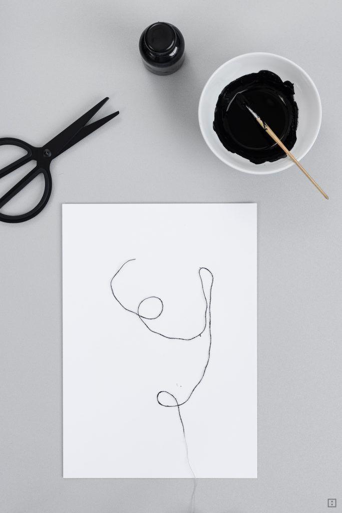 abstrakte Dreckspatz-Kunst für Minimalisten | ZWO:STE