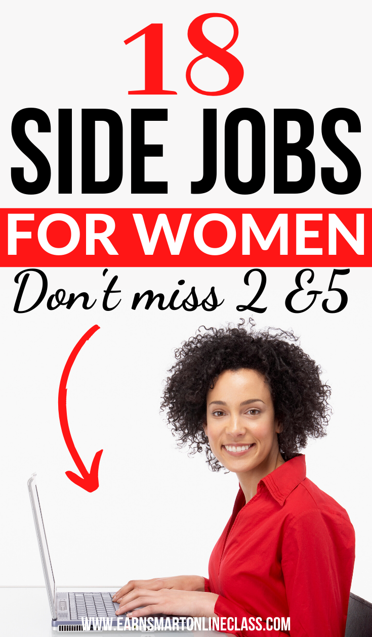 Are you a woman searching for small business ideas to make money? Here's a list of the best business ideas for women that you can start in 2020!  Lean how to earn money from home using side jobs for women #workfromhome #makemoneyonline #sidejobstomakemoney #sidehustleideas #startanonlinebusiness #homebusiness #waystomakemoney #howtomakemoney